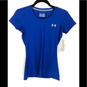 Under Armour NWT Blue fitted Top